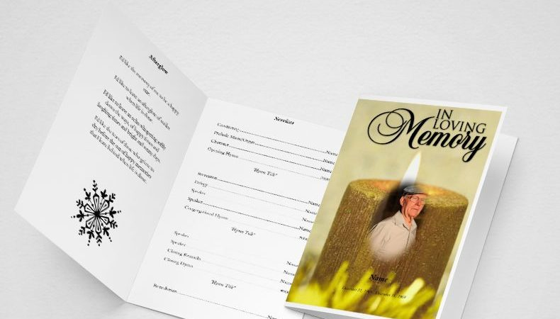 Free Obituary Template – Sample Obituary Format