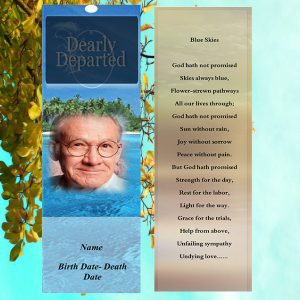Main Funeral bookmarks