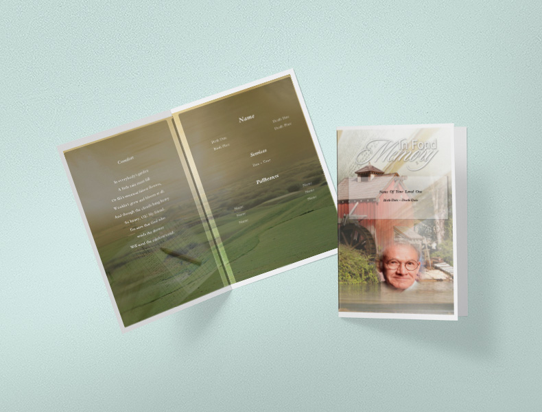 Memories by Funeral Programs