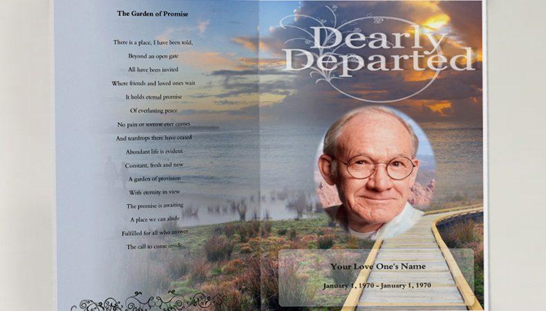 Samples Funeral Programs