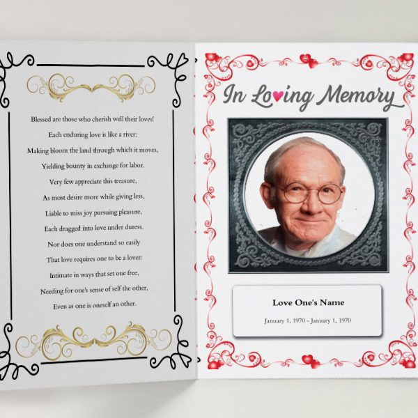 Creating Funeral Booklets