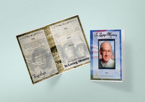 Free Tabloid Funeral Program
