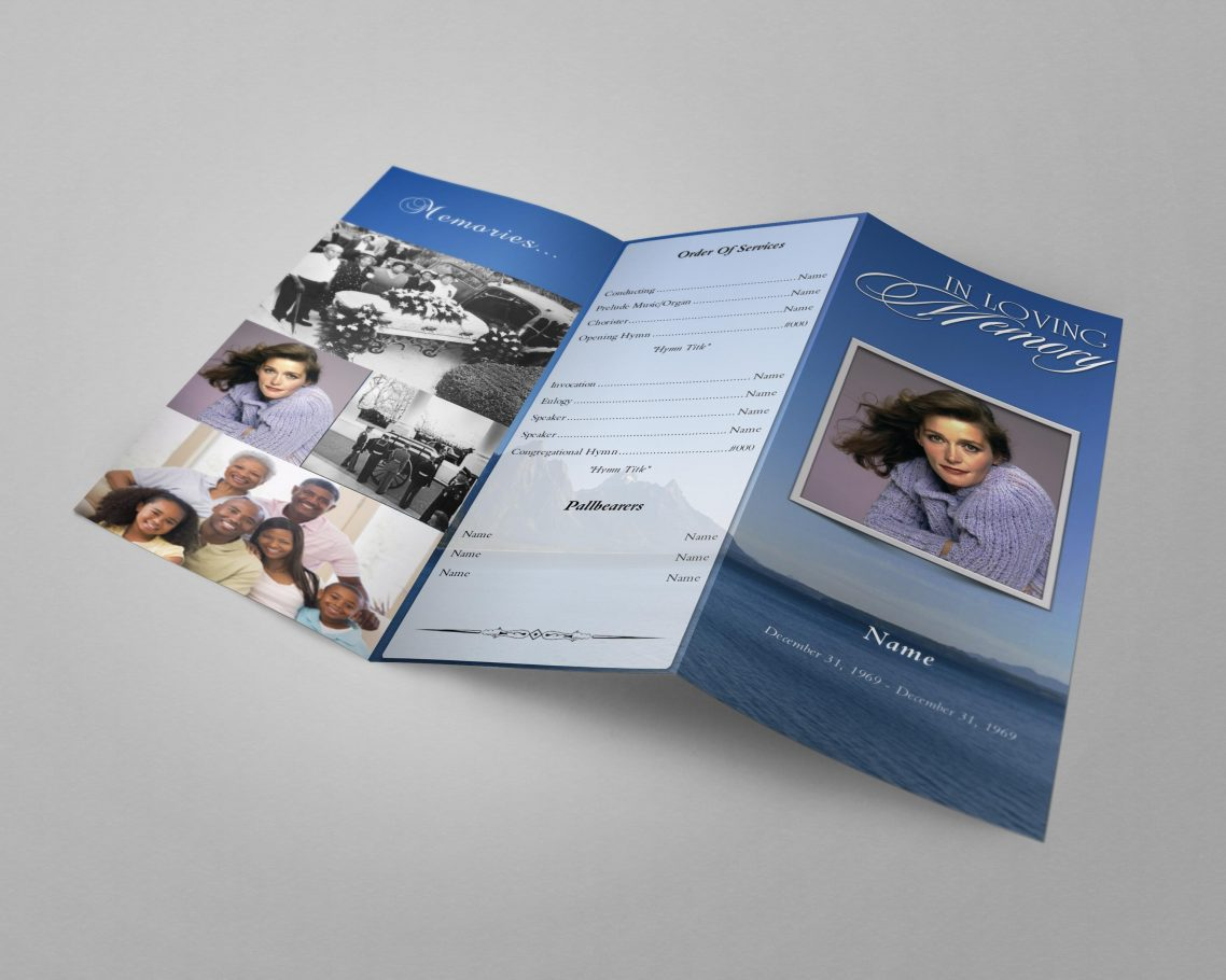 graphic regarding Printable Tri Fold Brochures titled Tri Fold Brochure Templates 300+ Printable Tri Fold
