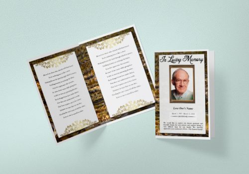 free funeral templates word