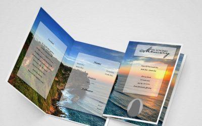 free print funeral programs