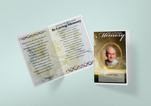 funeral template word free