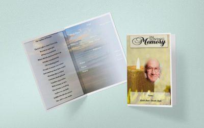 print funeral programs online