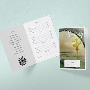 Welfare Funeral Program Word Template