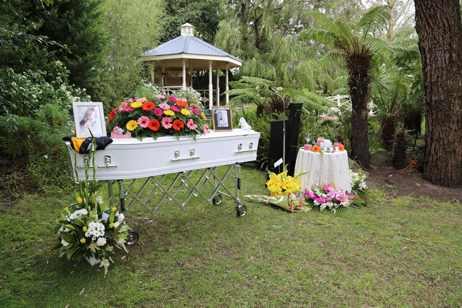 The Funeral Service and The Burial