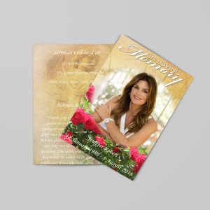 Funeral Program Templates for Women