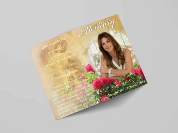 women-special-funeral-program-template-stylish-cover