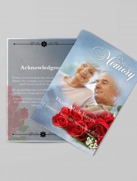 Decent Funeral Program Template