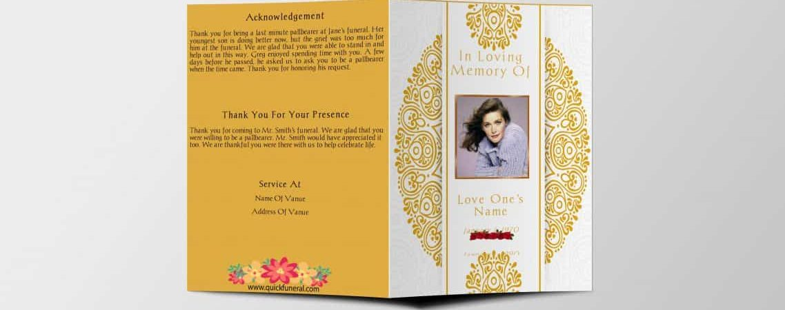What is Obituary Template