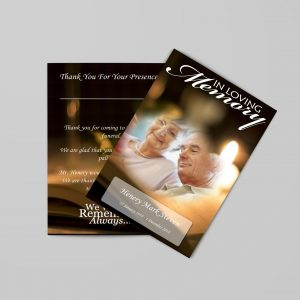 Funeral Programs (8.5 X 11)