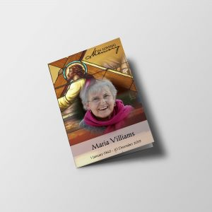 Christian Funeral Program Template
