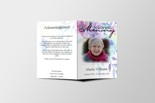 multicolor-floral-funeral-program-template-covers